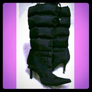 Puffer style boots